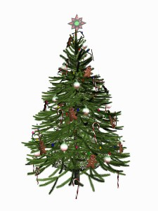 bigstock_Decorated_Christmas_Tree_Over__278929