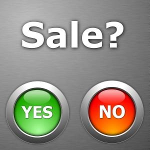 No Sale
