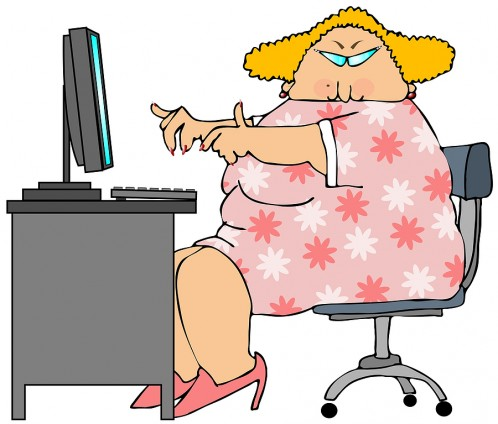 bigstock_Woman_At_A_Computer_2571574