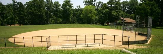 Baseball field Lynbrook Park