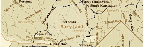 Bethesda Map
