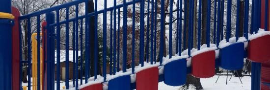 Snow in Lynbrook Park