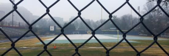 foggy day in East Bethesda