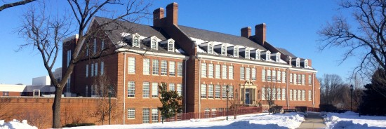 BCC High School in the winter