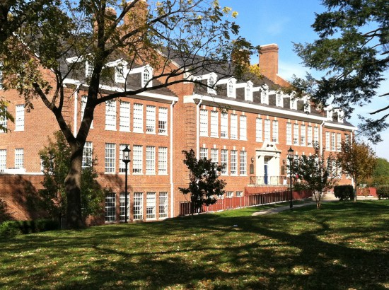 Bethesda Chevy Chase High School on a sunny day